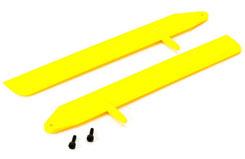 Blade 130X F/Flight Mn Rtr Blds Yel - blh3715ye