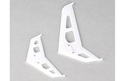 Blade 300X White Stabiliser/Fin Set - blh4530