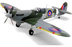 Dynam Spitfire MkIX w/Retracts 1200 - dyn8942v2