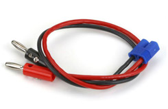 Charge Lead w/12inch Wire & Jacks - dync0018