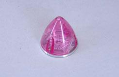 Transparent Spinner 38mm - Pink - e-irvspint38p