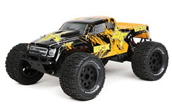 1/10 2WD Ruckus MT BD: Black/Orange - ecx03131it2