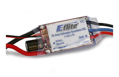 25Amp Heli Bless ESC E-Flite - efla325h