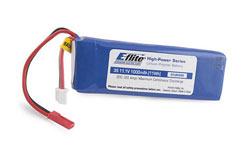 E-Flite 3S 11.1V 1000mAh Li-Po - eflb0998