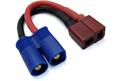 Etronix Fem Deans to Male EC3 Adapt - et0830