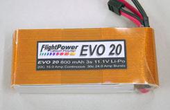 FlightPower Evo20-800 3S - evo08003s1p