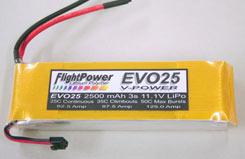 FlightPower Evo25-2500 3S - evo25-25003s