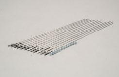 Steel Clevis w/12inch Rod 2-56 (Pk12) - f-gpmq3783