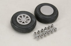 Scale Wheels 2 1/2inch - f-rb112