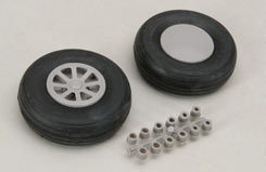 Scale Wheels 3 1/4inch - f-rb115