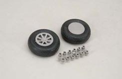 Diamond Tread Wheels 2 1/2inch - f-rb131