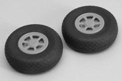 Treaded Airwheel (Pr) -2.75inch (70mm) - f-rmx4070