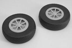Treaded Airwheel (Pr) - 6inch (150mm) - f-rmx4150