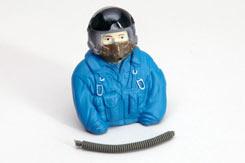 Jet Pilot (1/6 Blue) - f-rmx530-b