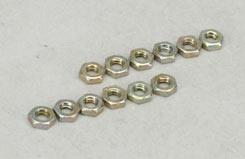 S'Van 4-40 Nuts (Pk12) - f-sln490