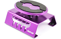 Purple Alum Locking Rotating Stand - fast407p