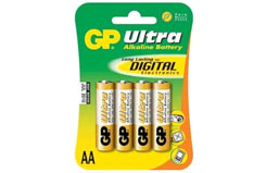 GP Ultra Alkaline Bat (4 Pk) - gp15au-c4