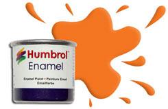 Humbrol 018 - Orange - h018