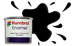 Humbrol 033 - Matt Black - h033