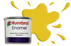 Humbrol 081 - Pale Yellow - h081