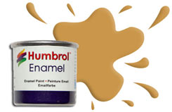 Humbrol 093 - Desert Yellow - h093