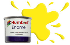 Humbrol 099 - Lemon - h099