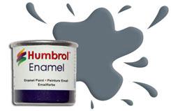 Humbrol 125 - US Dark Grey-Satin - h125