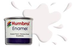 Humbrol 130 - Satin White - h130