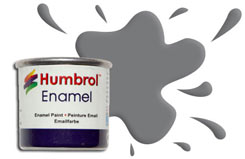 Humbrol 156 - Matt Dark Grey - h156