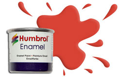 Humbrol 174 - Signal Red - h174