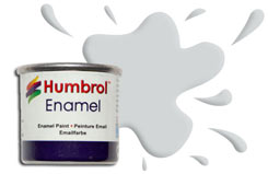Humbrol 196 - Light Grey - h196
