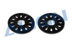 H50178QAT Slant Main Gear 134T-Blk - h50178qat