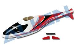 Trex 250 F3C Fuselage Red - hf2502t
