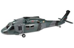 UH-60 500 Scale Fuselage - hf5006t
