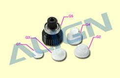 K10423A Gear Set - DS510 - hsp51031t