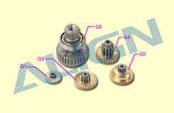 HSP51032T Gear Set - DS510M - hsp51032t