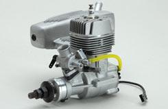 O.S. GT15 Petrol w/E-4020 Silencer - l-os38160
