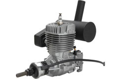 O.S. GT22 Petrol w/E-5040 Silencer - l-os38200