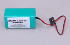 4.8V Eneloop 2000 Rx Pk Sqr - o-4en2000aawf