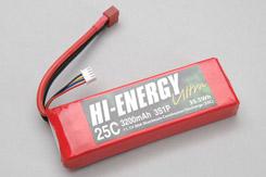 Hi-Energy 3S 3200mAh 25C - o-he3s1p320025a