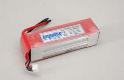 Impulse 14.8 4800mAh 20C LPo - o-im4s1p480020c