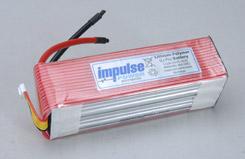 Impulse 5S1P 4800mAh 20C Li-Po - o-im5s1p480020c