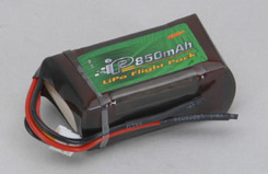 Intelct 11.1 850mAh 20C LiPo - o-it3s1p085020a