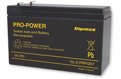 PP 12V 7A Gell Cell Battery - o-prp1207
