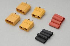 Ripmax XT-90 Conn (2pcs) - o-rax90-02