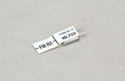 FUTABA RX XTAL 40.755 Chan75 - p-cr40-75