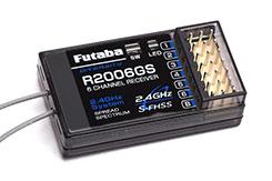 R2006GS 6ch Rx 2.4GHz FHSS - p-r2006gs-2-4g