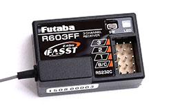 Futaba R603FF 2.4GHz 3Ch Rx - p-r603ff-2-4g
