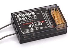 Futaba R617FS 2.4GHz 7Ch Rx - p-r617fs-2-4g