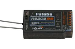 R6208SB 8/18ch Rx (S-Bus) (HV) 2.4G - p-r6208sb-2-4g